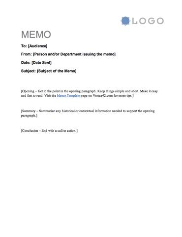 Memo Letter - Casual